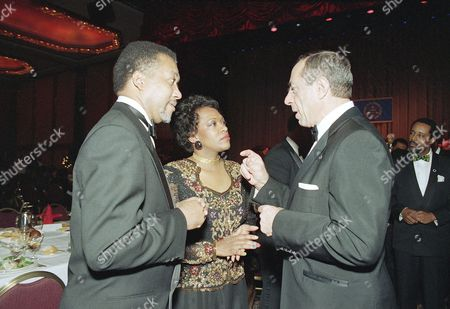 Rita Dove, Mario Cuomo, Benjamin Chavis New York Gov. Mario Cuomo, right, gestures as he talks with Dr. Benjamin Chavis, Jr., executive director of the National Association for the Advancement of Colored People, left, and Rita Dove, U.S. poet laureate, in New York. Dove was the recipient of the NAACP's Annual Great American Artist Award