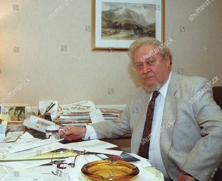 BORK Former U.S. Circuit Court of Appeals Judge Robert Bork sits in his office in Washington in April of 1993