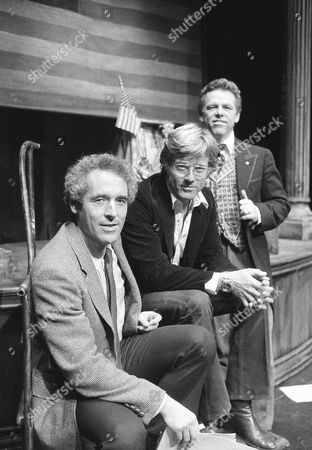 Robert Redford Robert Redford, center, visits playwright Tom Cole, left, and actor Eugene Anthony backstage at the off Broadway Astor Place Theater in New York, . Redford was visiting his friend Cole whose play ?Fighting Bob? opened on Monday. Anthony plays the title character Robert M. La Follette