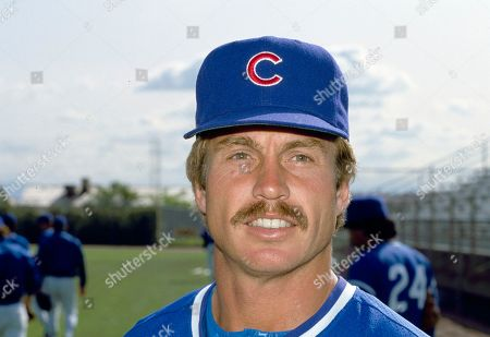 CHICAGO CUBS Ron Cey, Chicago Cubs infielder, 1984