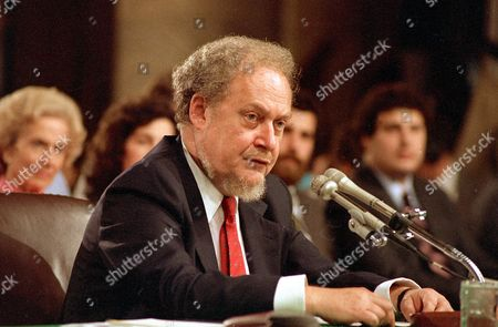 Bork U.S. Supreme Court nominee Robert H. Bork testifies before the Senate Judiciary Committee on the first day of his confirmation hearings on Capitol Hill, . Bork's message to the committee was that he was neither liberal nor conservative