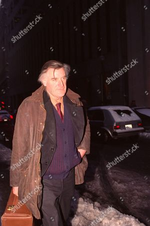 "Ted Hughes Poet Ted Hughes, former husband of late author Sylvia Plath, appears outside U.S. District Court in Boston where he was defending himself against a defamation suit on . Hughes and co-defendants were named in a defamation suit by Dr. Jane V. Anderson for what she believed was a damaging portrayal of her in the film of Plath's book ""The Bell Jar"