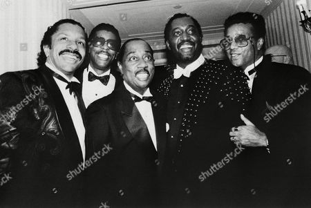 Editorial photo of The Temptations, New York, USA