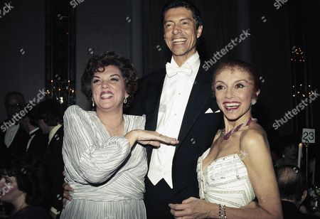 "Tommy Tune, Tyne Daly, Liliane Montevecchi Choreographer Tommy Tune, Tyne Daly and Liliane Montevecchi at New York's Waldorf-Astoria Hotel on during a party for the opening of Tune's new musical, ""Grand Hotel,"" starring Montevecchi. Daly, formerly a costar on ""Cagney and Lacey,"" stars on Broadway in a revival of ""Gypsy"