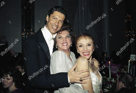 "Tommy Tune, Tyne Daly, Liliane Montevecchi From left, choreographer Tommy Tune, Tyne Daly and Liliane Montevecchi at New York's Waldorf-Astoria Hotel on during a party for the opening of Tune's new musical, ""Grand Hotel,"" starring Montevecchi. Daly, formerly a costar on ""Cagney and Lacey,"" stars on Broadway in a revival of ""Gypsy"