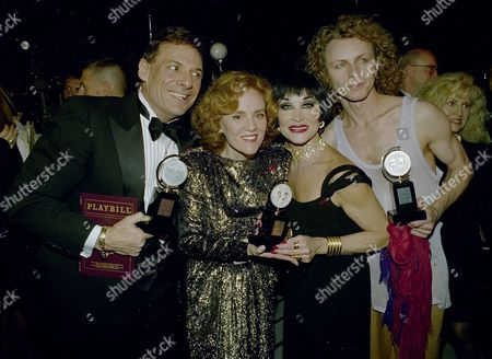 Editorial image of Tonys Best Actors 1993, New York, USA