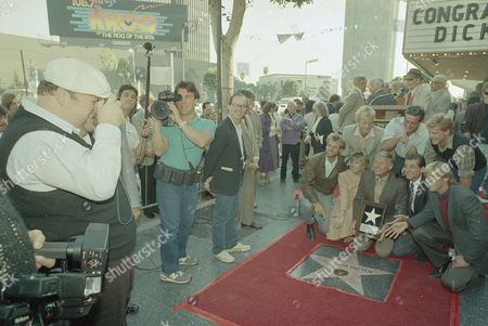Editorial picture of Walk Of Fame Van Patten, Hollywood, USA