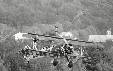 Editorial picture of Wingwalking Demonstration, Lebanon, USA