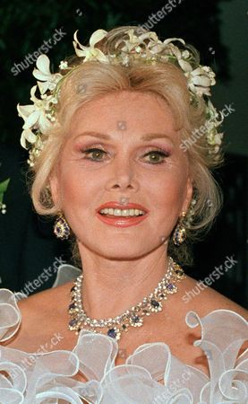 Zsa Zsa Gabor Actress Zsa Zsa Gabor on her wedding day in Los Angeles. As the former socialite and actress lies motionless _ unable to eat, barely able to communicate, hardly knowing where she is _ tensions seethe between the two people closest to Gabor: Her husband of 25 years, Frederic Prinz von Anhalt, and her only daughter, Francesca Hilton