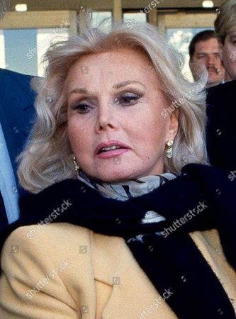 Zsa Zsa Gabor Actress Zsa Zsa Gabor is shown in Midland, Texas. Constance Francesca Hilton, the daughter of Gabor, is asking a Los Angeles court to place her mother in a conservatorship that will independently control the ailing glamor queen's medical care and financial needs