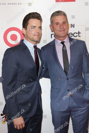 Matt Bomer and Simon Halls