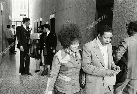 "Linda Taylor Linda Taylor, 49, the so-called ""welfare queen"", was sentenced to serve two-to-six years in prison in Chicago, . She is shown on her way to sentencing. Taylor was convicted March 17 of theft and perjury. Man escorting her is unidentified"