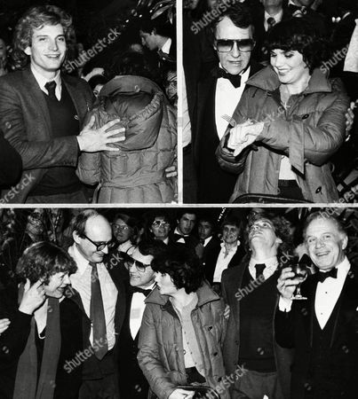 Linda Ronstadt, Estelle Parsons, Wilford Leach, Joe Papp, Rex Smith, George Rose Linda Ronstadt, co-star of Broadway?s ?Pirates of Penzance?, times her opening night photo session at Luchow?s Restaurant in New York, . Top left she turns her back on photogs, top right, times the session to 30 seconds, then poses with the show?s cast. From left, lower photo, are Estelle Parsons; director Wilford Leach; producer Joe Papp; Ronstadt; and co-stars Rex Smith and George Rose