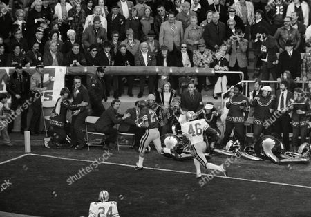 Editorial picture of 1975 Rose Bowl USC vs Ohio State, Pasadena, USA