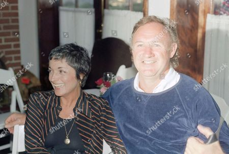 Gene Hackman Actor Gene Hackman with wife at E.R.A. gathering in actress Joan Hackett?s home in Beverly Hills, Calif., March 1978