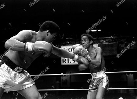 Ali Davis Muhammad Ali is pictured delivering a punch to the body of entertainer Sammy Davis, Jr. during their benefit fight and show at the Olympic Auditorium, Los Angeles, . The fight was part of a sports program in which Ali fought Richard Pryor, Marvin Gaye, and actor Burt Young to help his former photographer, Howard Bingham, who is running for Congress in the 31st district