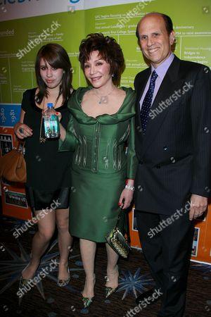 Bari Milken, Lynda Resnick and Michael Milken