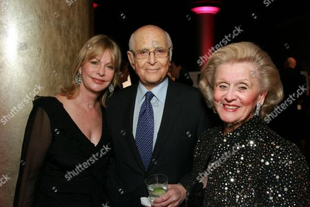 Lyn and Norman Lear with Barbara Davis