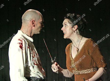 Macbeth performed by the Royal Shakespeare Company Patrick O'Kane ( Macbeth ) Derbhle Crotty ( Lady Macbeth )
