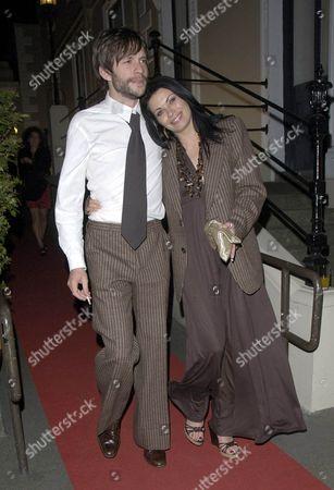Alison King with new boyfriend Adam Huckett