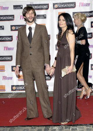 Alison King (r) with new boyfriend Adam Huckett