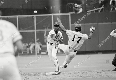 Royals second baseman Frank White fires to first after forcing Yankee Mickey Rivers in a third-inning double play during American League championship game on in Kansas City. Thurman Munson was caught at first after his drive to shortstop Fred Patek started the action. Kansas City beat New York, 10-4