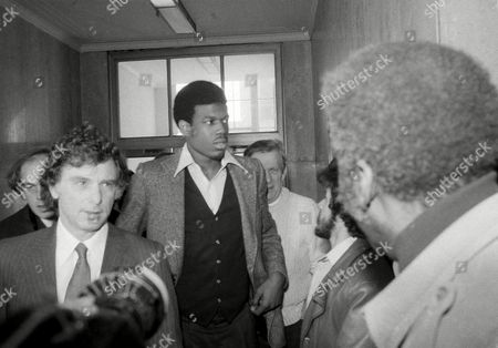 Bernard King Bernard King of the New Jersey Nets as he brushes past reporters after his lawyer entered King's plea of innocent to charges of cocaine and driving violations in Brooklyn Criminal Court
