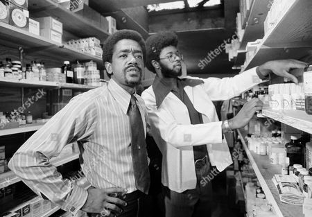Bobby Seale, William Elder Bobby Seale with William Elder, on the staff of the Black Panthers free health clinic, in the clinic?s stock room, . Note Seale wearing shirt and tie, in contrast to the old days of black jackets