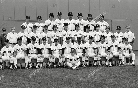 Editorial image of Boston Red Sox Team 1980, Boston, USA