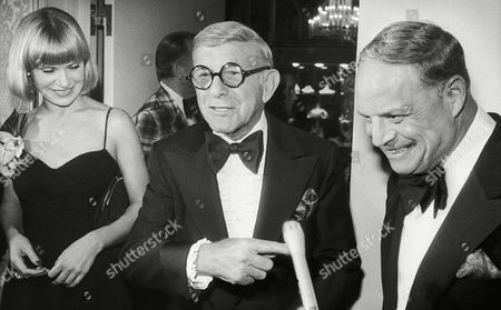Editorial picture of Don Rickles with George Burns, Beverly Hills, USA