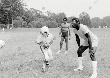 Editorial picture of Doug Williams and Joe Namath, Hamden, USA