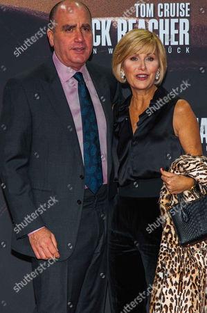 Don Granger, Lisa McQueen (NBC Moderatorin)