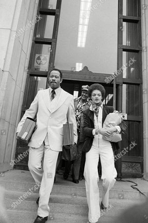 Eldridge Cleaver, Kathleen Neal Cleaver Eldridge Cleaver and his wife Kathleen leave the Alameda County Courthouse after he was freed on $100,000 bond, . Cleaver jumped bail previously in 1968 and spent seven years abroad. He returned voluntarily to the U.S. last November. No trial date has been set