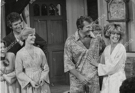 Editorial photo of Farrah And Bradys 1977, Los Angeles, USA