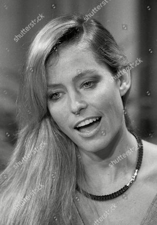"""Actress Farrah Fawcett-Majors smiles during an appearance on the """"Today"""" show in New York"""