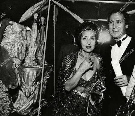 Editorial image of Francoise Gilot and Darius de la Rochefoucauld, New York, USA