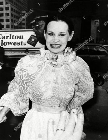 Gloria Vanderbilt Cooper arrives for the Ethel Merman-Mary Martin benefit at the Broadway Theater in New York City