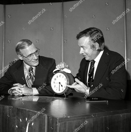 "Hugh Downs, Frank McGee Hugh Downs, right, for the past nine years host of the morning NBC ""Today"" show, explains the delights of getting up at 4:30 am to Frank McGee, 50, who took over the job, . McGee, an NBC newsman for the past 14 years, become the fourth ""Today's Host"