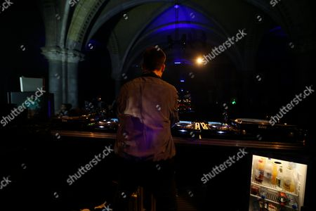 DJ Maceo Plex at Rijksmuseum Amsterdam, The Netherlands during the Amsterdam Dance Event