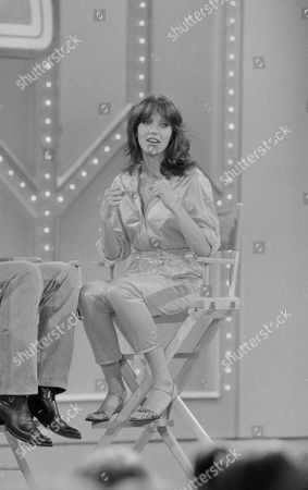 "Tanya Roberts, Victoria Leigh Blum Newest star of the television show ""Charlie's Angels,"" Tanya Roberts, is pictured during a taping of ABC-TV's ""Kids Are People Too,"" in New York"