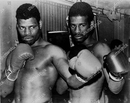 Leon Spinks, Michael Spinks Leon Spinks, left, and brother Michaell Spinks pose in an undated photo. Location unknown