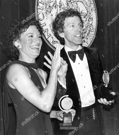 """Frelich Rubenstein Phyllis Frelich and co-star John Rubenstein talk to guests in sign language at the 34th Annual Tony Awards dinner in New York City. Frelich, a Tony Award-winning deaf actress who starred in the Broadway version of """"Children of a Lesser God,"""" has died. She was 70. Her husband, Robert Steinberg, said she died Thursday, April 10, 2014 at their home in Temple City, Calif"""