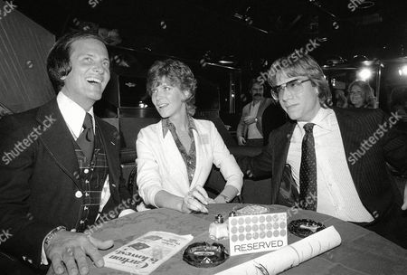 Editorial picture of Pat Boone with Daughter Debbie and Gabriel Ferrer, New York, USA