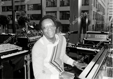 Lewis Jazz pianist Ramsey Lewis plays the piano in San Francisco, Ca