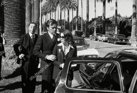 Editorial image of Robert Wagner and Natalie Wood, Beverly Hills, USA