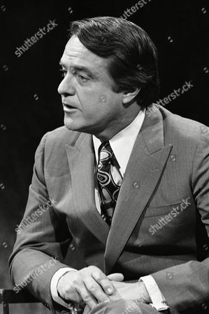 Robert Sargent Shriver, Jr Shown in photo is Sargent Shriver, on the ABC Issues and answers program on in New York