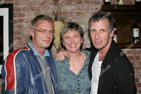 Stephen Daldry, Lucy Sexton and Michael Cunningham