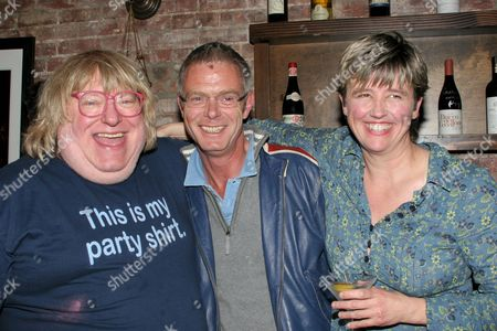 Bruce Vilanch, Stephen Daldry and Lucy Sexton