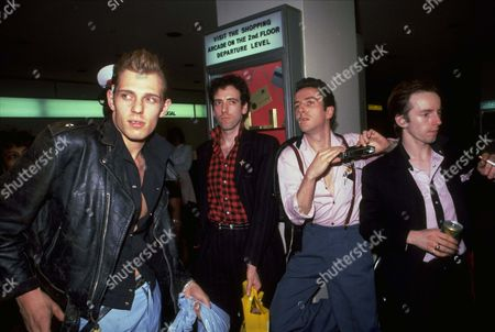 Editorial photo of THE CLASH, NEW YORK, USA