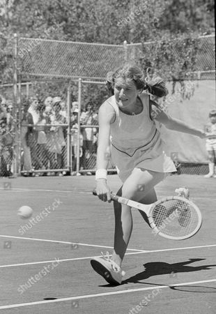 Tracy Austin Tracy Austin runs to make a return to her opponent Rosemary Casals during quarterfinals action at the Family Circle Cup tennis tournament on Hilton Head Island, S.C., . Austin beat Casals in two sets 6-4, 7-6 (5-2). Austin will meet Chris Evert for the semifinals
